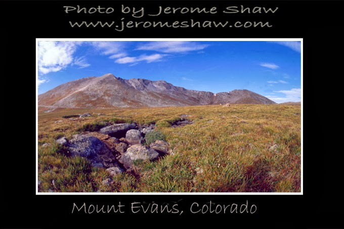 Mount Evans Colorado copyright Jerome Shaw 2006 / www.JeromeShaw.com