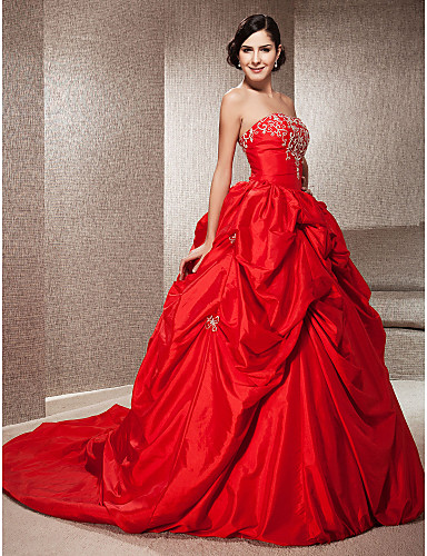 Red And Black Wedding Dresses 13 Fancy