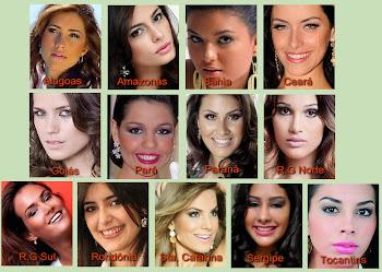 ALGUMAS CANDIDATAS AO MISS BRASIL UNIVERSO 2011