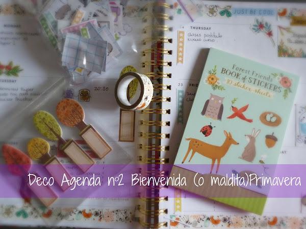 Deco Agenda nº2 : Bienvenida (o maldita) Primavera