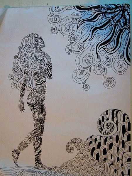 zentangle chasity haslip