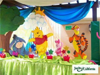 Fiestas infantiles decoraci n oso pooh for Decoracion winnie pooh para fiesta infantil