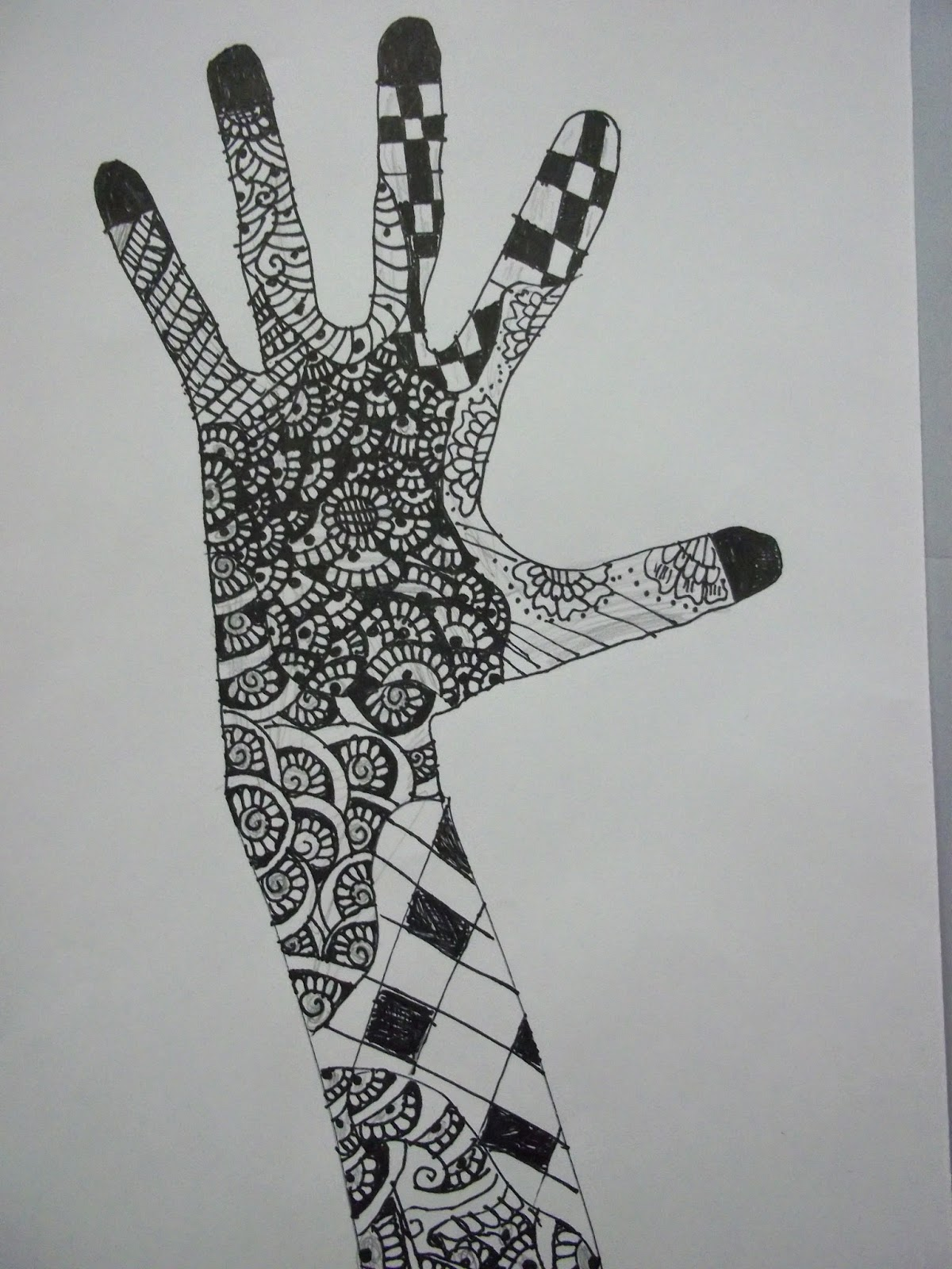 Elementary Art Line Design : Art kids of benavidez elementary line design with zentangles