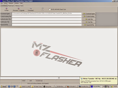 SP FLASH TOOL V.3.1332 UNTUK FLASH MTK