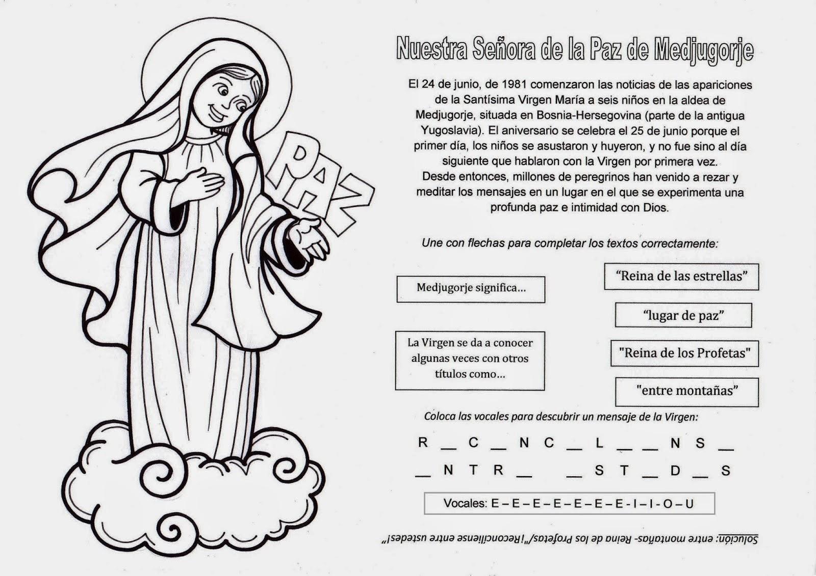 Virgen María, Ruega por Nosotros ®: NUESTRA SEÑORA DE LA PAZ DE ...
