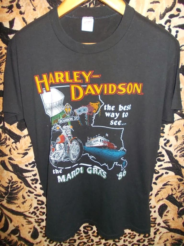 VTG 86 HARLEY DEADSTOCK T-SHIRT
