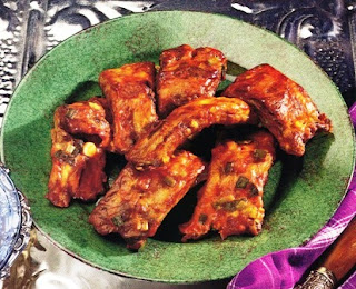 Snack-Size Barbecued Ribs