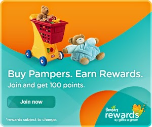 Pampers Gifts to Grow Rewards Program