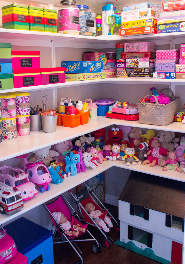 The beauty of the best house how to organize kids room Large toy storage ideas