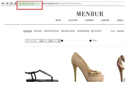 Zapatos online Menbur