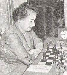 La ajedrecista Julia Maldonado de Monerris
