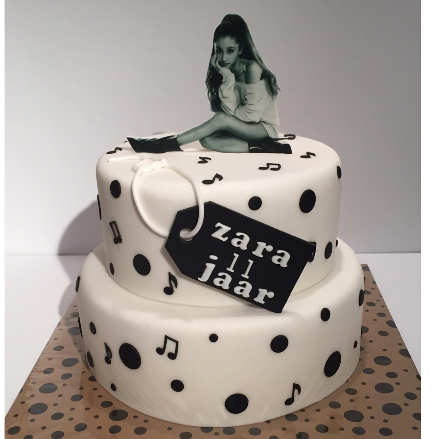 S Themed Pbirthday Cake
