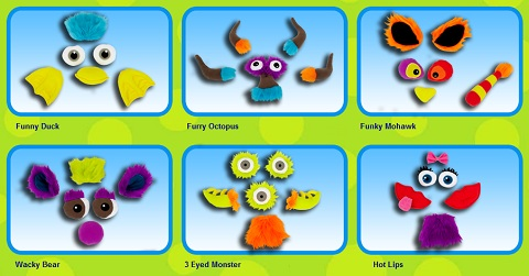 Puppet Monsters accessory kits
