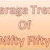 Nifty Fifty average trend update on 05 March 2015
