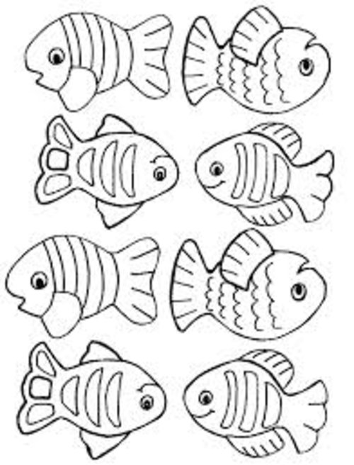 Free Coloring Pages Small Fish Coloring Pages For Kids Small Coloring Pages