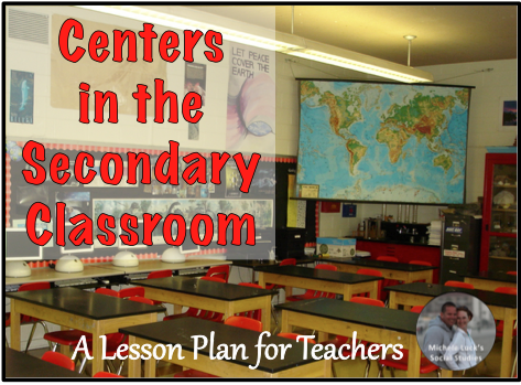 A lesson plan for teachers monday mapping centers in the - Set design lesson plans middle school ...