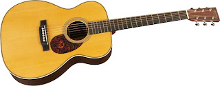 John Mayer Guitars - Martin JM Acoustic Guitars (his signature OMJM model)
