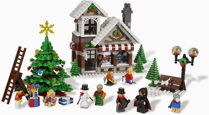 My Favourite: Lego Winter Village Series: 10245 Santa's Workshop