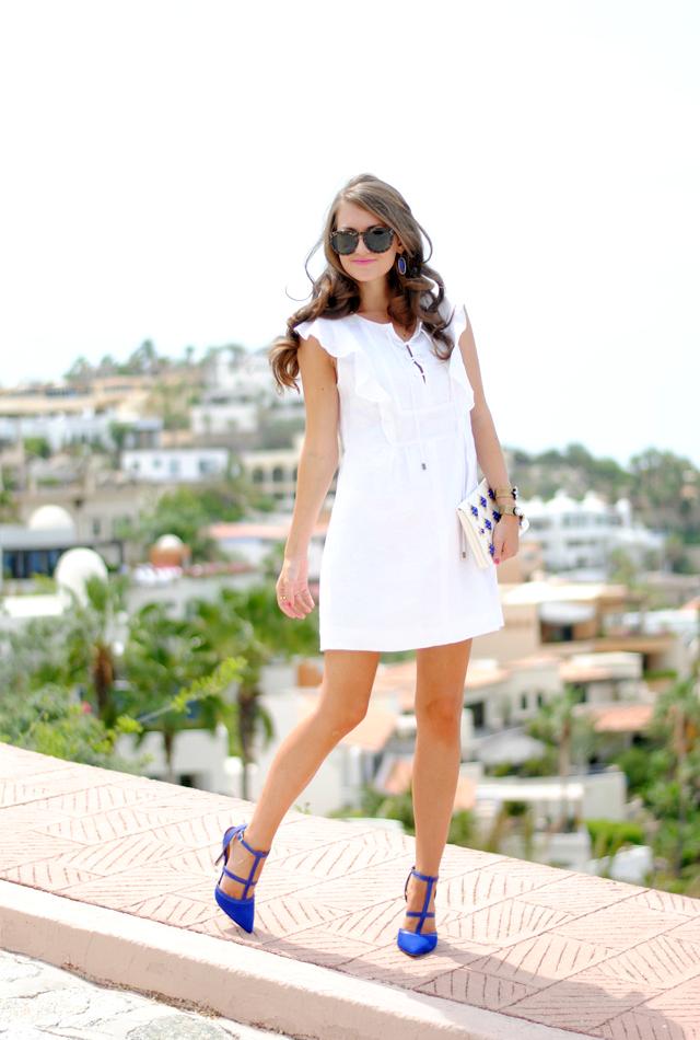 Perfect LWD (little white dress!)
