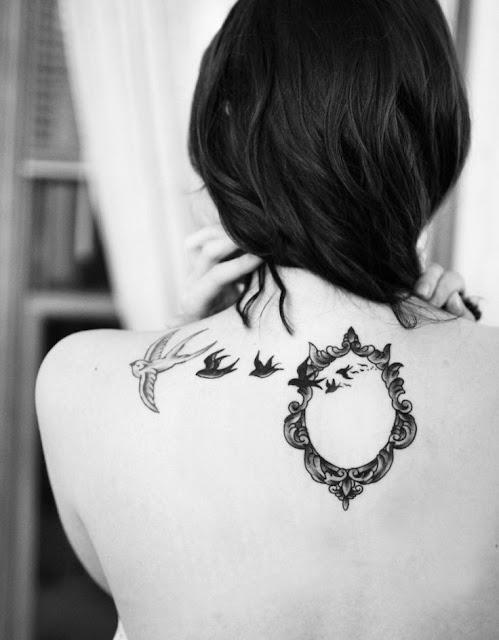 35 ideias de tatuagens para as costas femininas