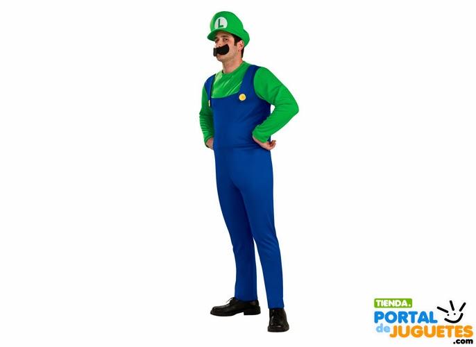 disfraz luigi hombre carnaval