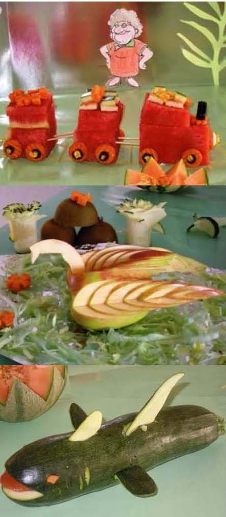 Blog domus taller de decoraci n con verduras for Decoracion con verduras