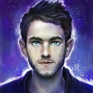 Zedd painting