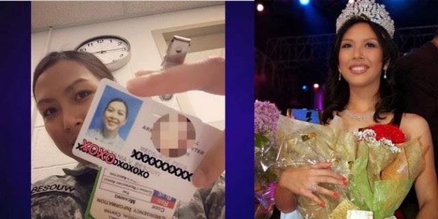 Miss Indonesia 2006 Kristania Virginia Besouw Jadi Tentara AS