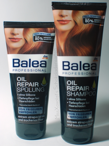 Balea Oil Repair Shampoo & Spülung