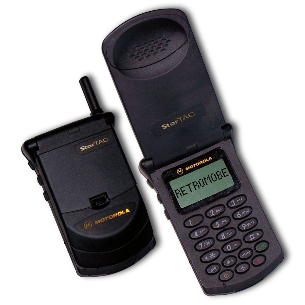 Retromobe - retro mobile phones and other gadgets: Motorola StarTAC ...