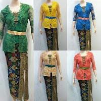 Baju Kebaya Broklat Motif Batik Prada