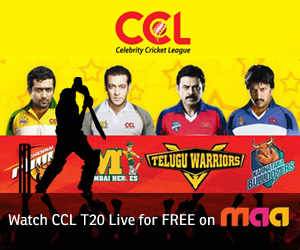 Celebrity Cricket League 2011 – LIVE