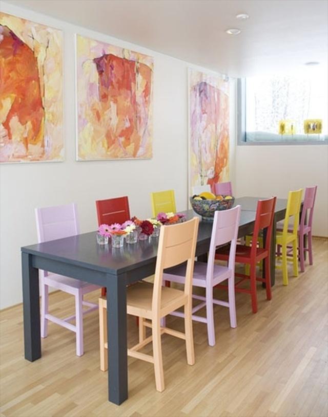 Sala de jantar moderna 7