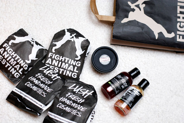 lush haul christmas products