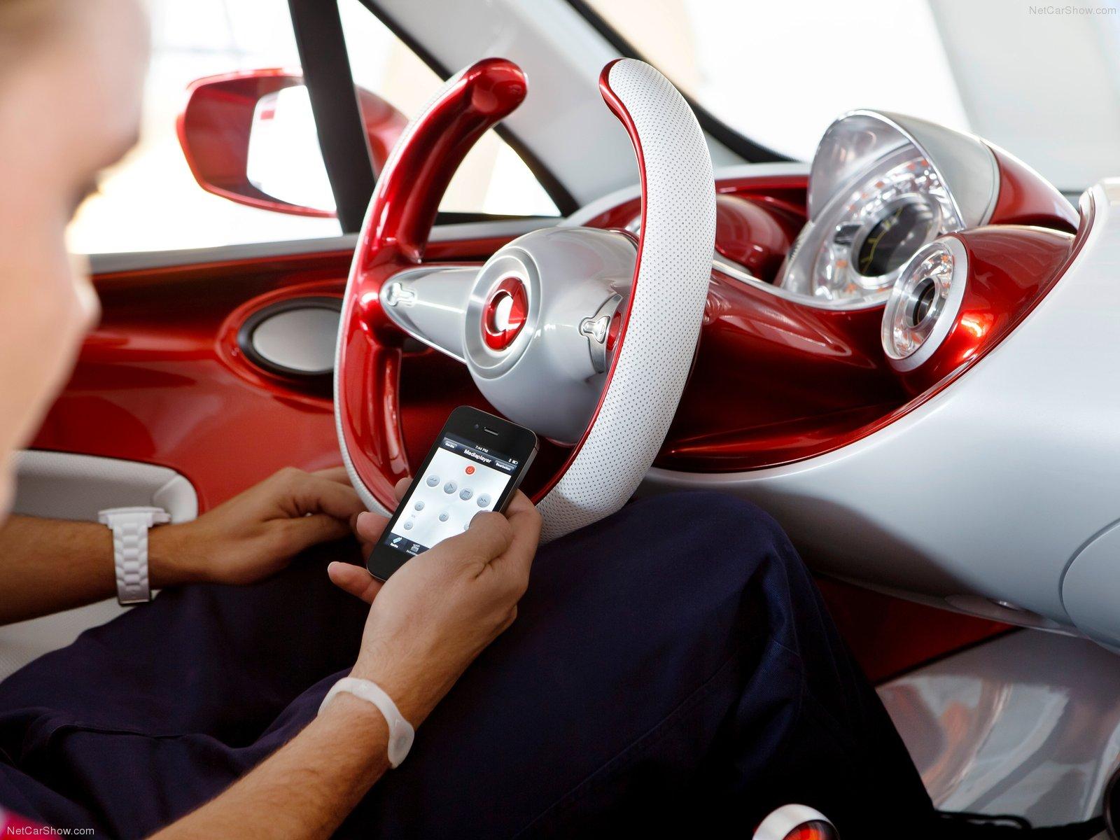 Hình ảnh xe ô tô Smart forstars Concept 2012 & nội ngoại thất