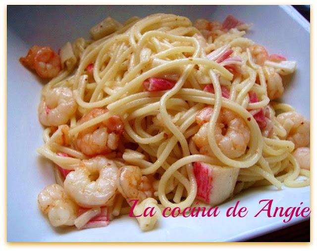 Fetuccini Al Ajillo