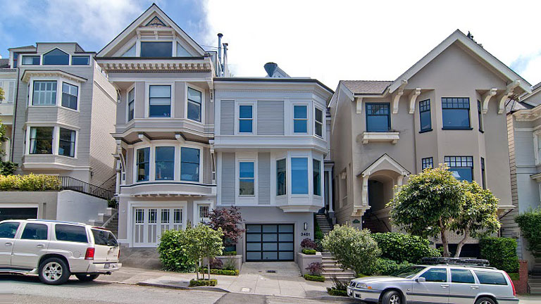 Would you live in one of the ten best homes in america for Houses in san francisco