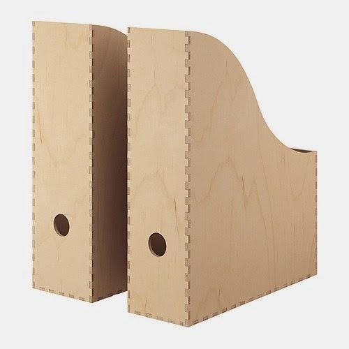 boîtes rangement papiers