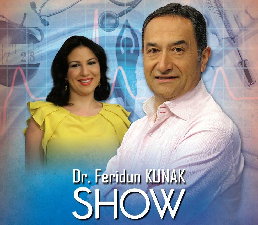 Dr. Ferudun Kunak Show hergün Kanal7 Saat 09:45