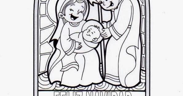 El Rincón de las Melli: Vitral: Jesús nace en Belén