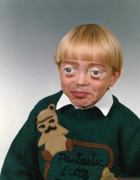 Steve Buscemi Was A Creepy Looking Kid