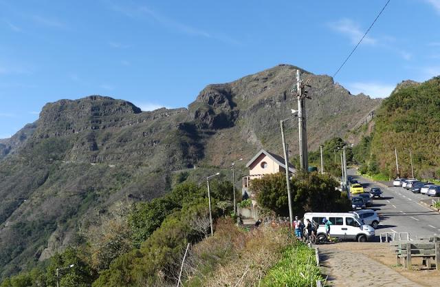Encumeada-Pass auf Madeira