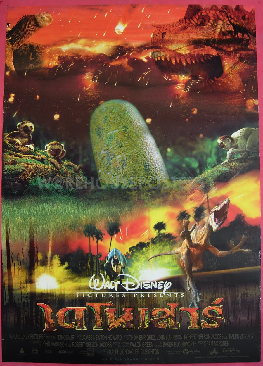 film thoughts series report card disney animated features 2000 - Dinosaure Disney