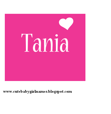 Meaning Of Tania Name In English Fairy Princess
