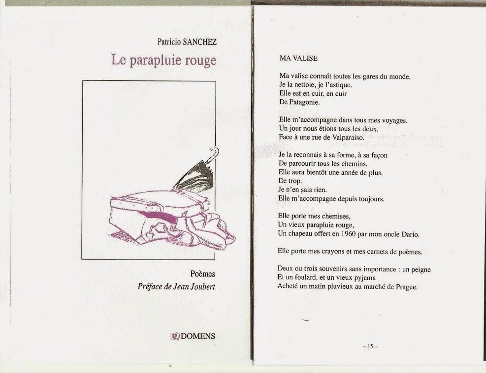 LE PARAPLUIE ROUGE - PATRICIO SANCHEZ - FRANCE - DOMENS, 2011.