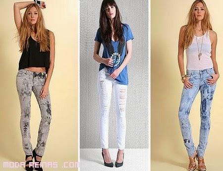 Teen girls aprende a reciclar tu ropa - Decorar pantalones vaqueros ...