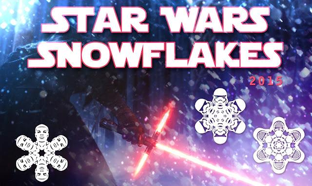 Die Star Wars Winter Fensterdeko zum selber basteln | The Force Awakens Edition