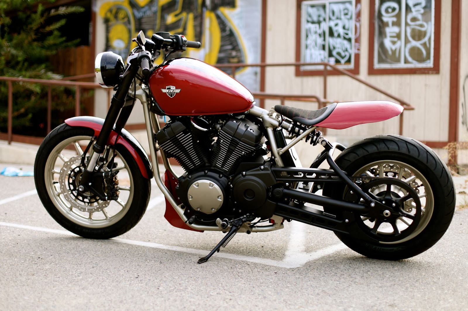 Racing caf yamaha bolt by chappell customs for Yamaha bolt bobber
