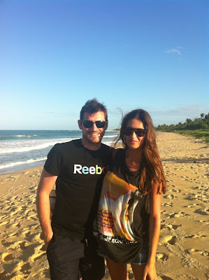 sara e iker en la playa en brasil no bikini ni desnuda