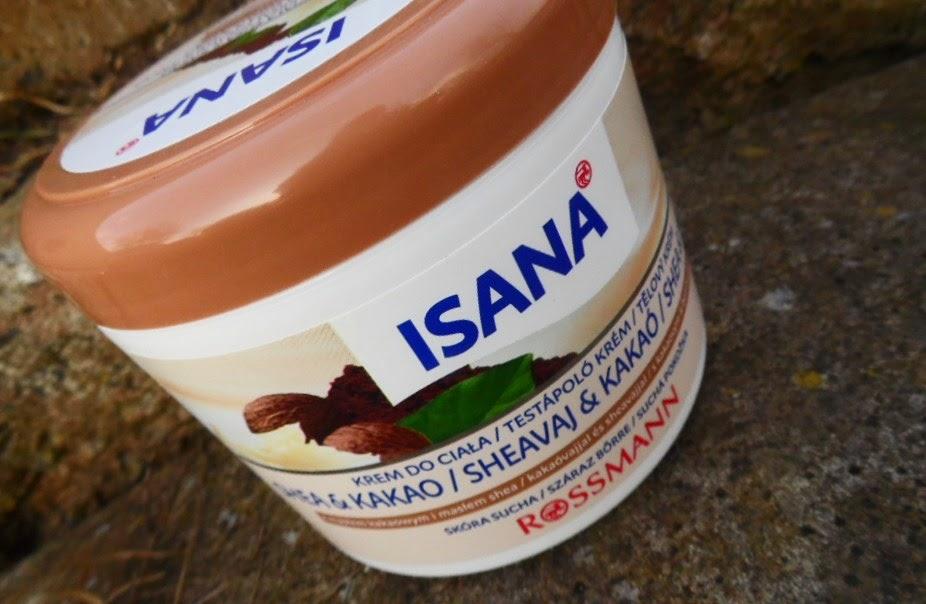 Ulubiony | Isana | Krem do ciała z masłem shea i kakao